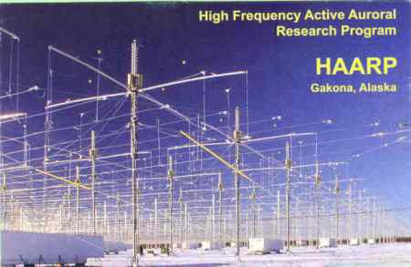 Blue Beam Project Haarp-antenna
