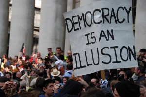 democracy is an illusion