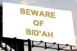 beware of bid'ah