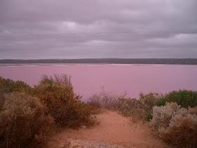 danau+berwarna+pink