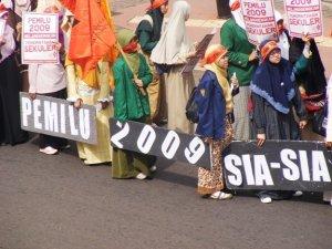pemilu-2009-sia-sia