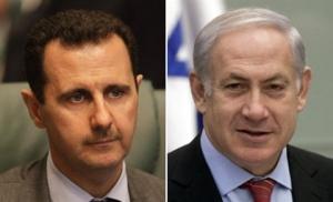 Zionis-Netanyahu-Basyar-Asad