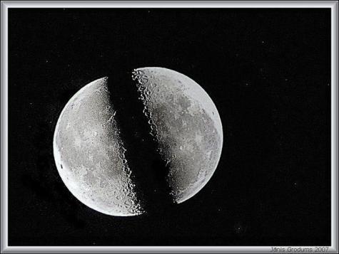 bulan terbelah