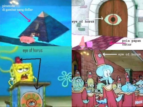 all seeing eye - spongebob