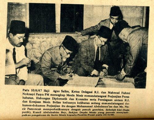 Kemerdekaan-Indonesia-perjanjian-kerjasama-RI-Mesir-pasca-pengakuan-kemerdekaan-RI